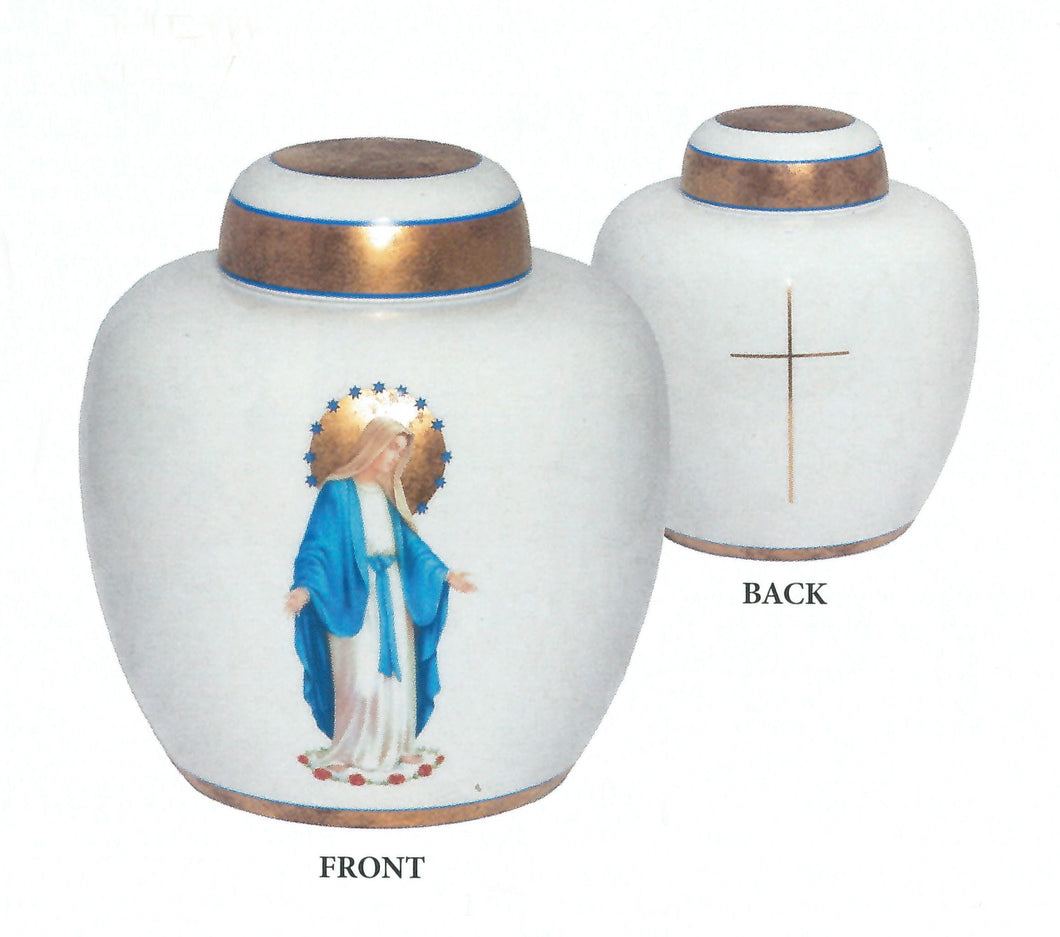 Mary / Thin Cross Urn