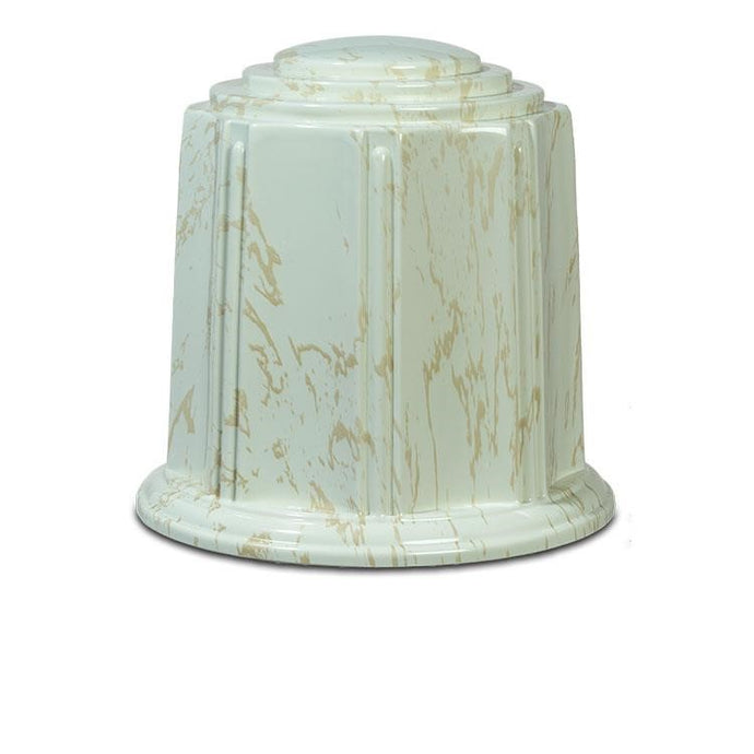 Regal Creme / Gold Marble Urn