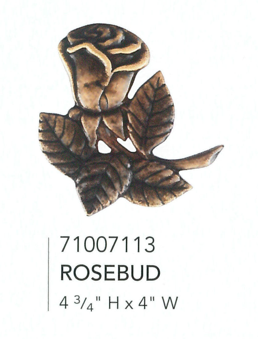 Rosebud Applique