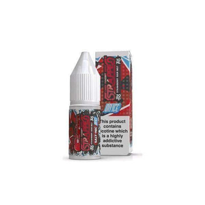 20mg Strapped On ICE 10ml Flavoured Nic Salt (60VG/40PG) Vaping Products Strapped  (4480928481325)