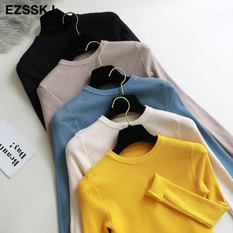 SUPER HIGH QUALITY WOMEN PULLOVER / SWEATER SLIM FIT