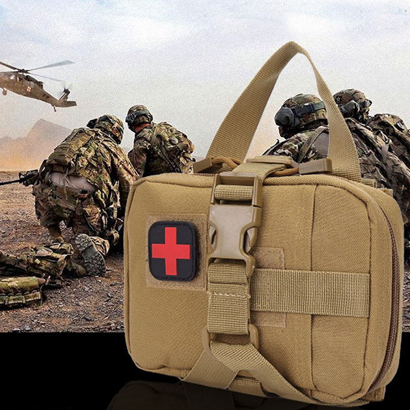 FREE USPS(4-7 days)/ TACTICAL MEDICAL EMERGENCY FIRST AID BACKPACK