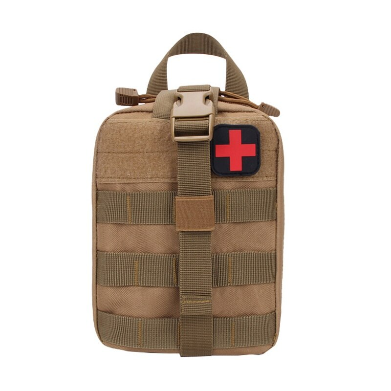 FREE USPS(4-7 days)/ NEW TACTICAL MEDICAL FIRST AID KIT PATCH BAG