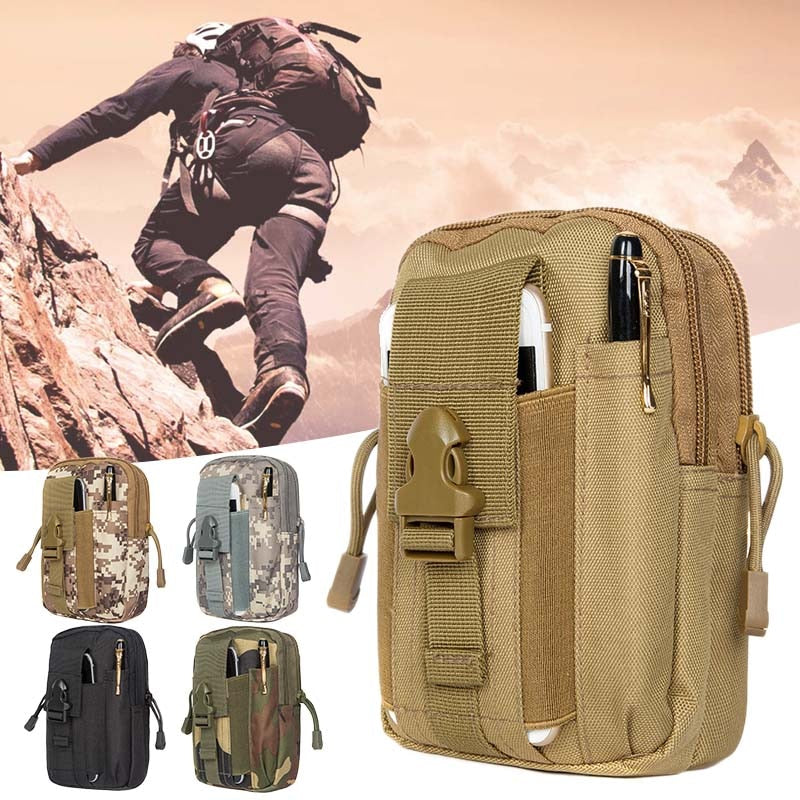 FREE SHIPS FAST FROM USA/MEN TACTICAL MOLLE POUCH / MILITARY WAIST BAG