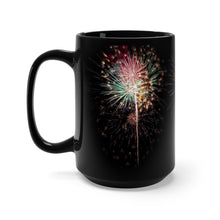 Load image into Gallery viewer, Fireworks Celebration Coffee Mug 15oz - by ARTISTICPX