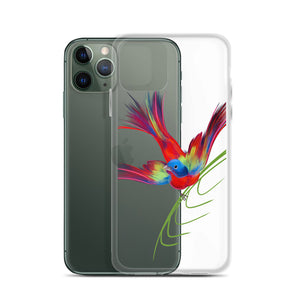 Painted Bunting iPhone Cellphone Case for Bird Lovers - Custom Artwork by ARTISTICPX