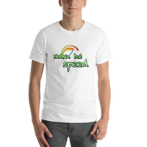 Nothing but speed Short-Sleeve Unisex T-Shirt for car enthusiasts - Green