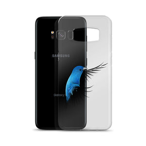 Indigo Bunting Samsung Cellphone Case for bird lovers - Custom Artwork