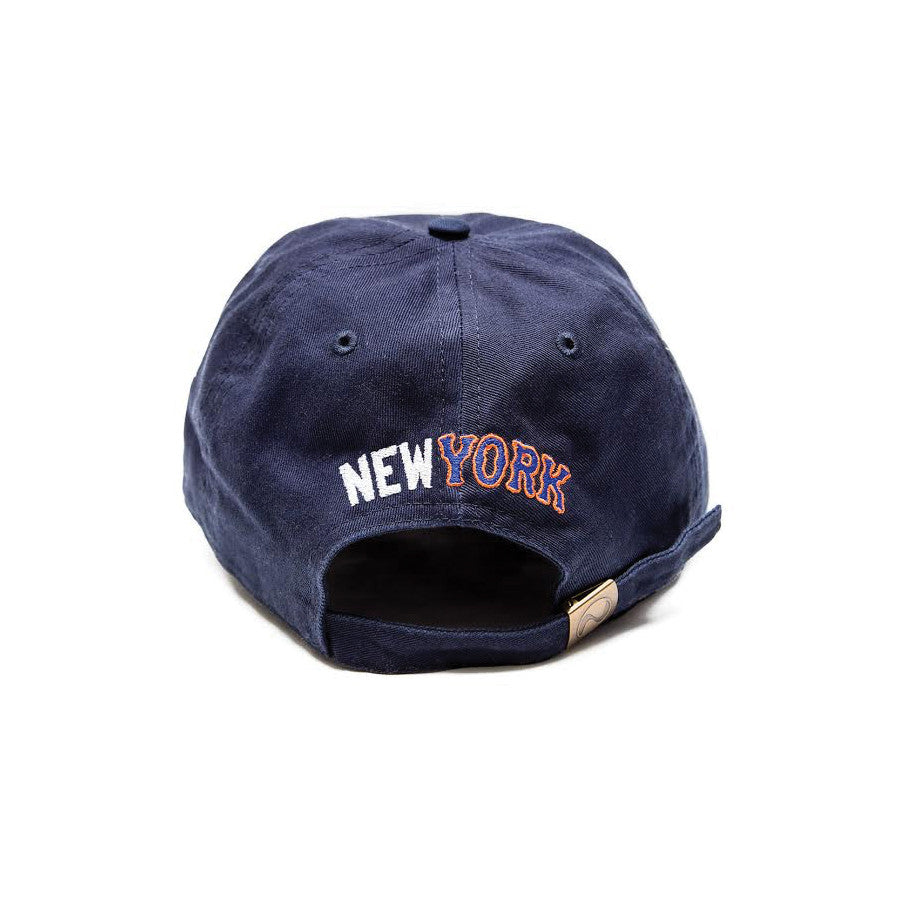 YANKMETS DAD CAP-NAVY