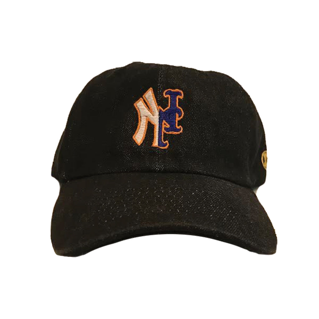 YANKMETS DAD CAP- BLACK DENIM
