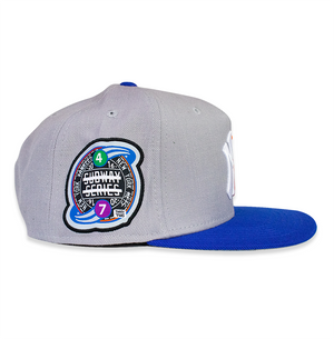 YANKMETS GRAY/ ROYAL CROWN™