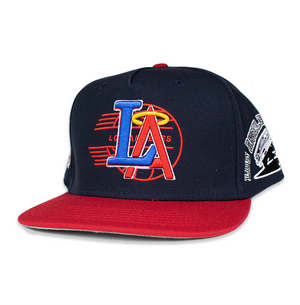 ANGELS IN THE OUTFIELD NAVY/RED