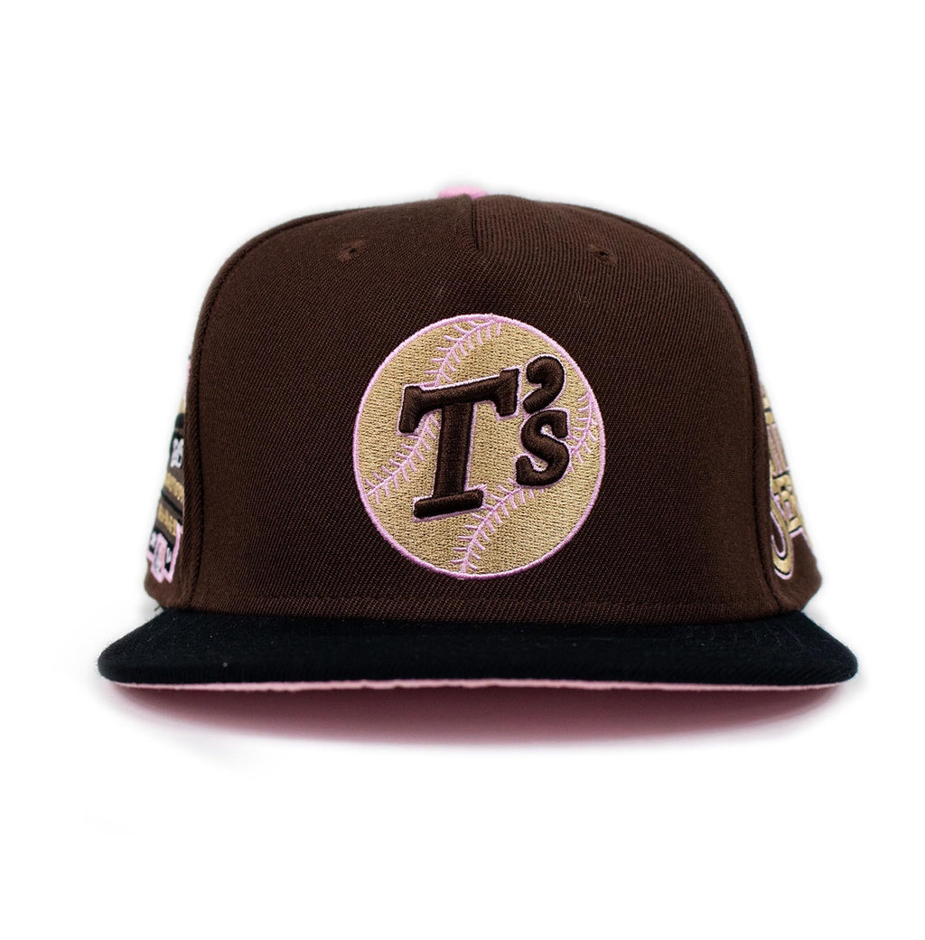 BROWN T's (black/brown)