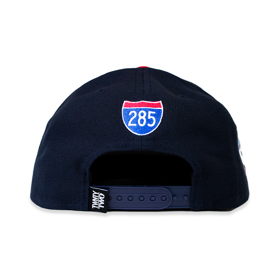 A T L  CROWN™ NAVY/RED RESTOCK PRE ORDER SHIPS 7/20/20
