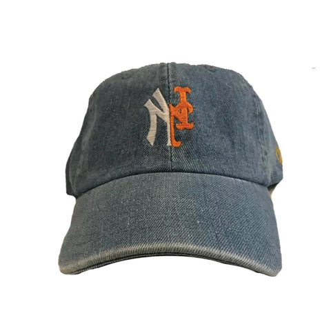 YANKMETS DAD CAP- LIGHT BLUE DENIM