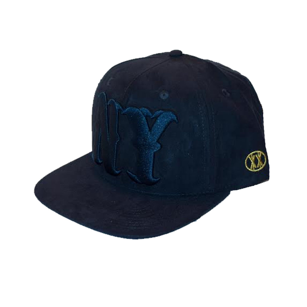 ALL NY- NAVY SUEDE