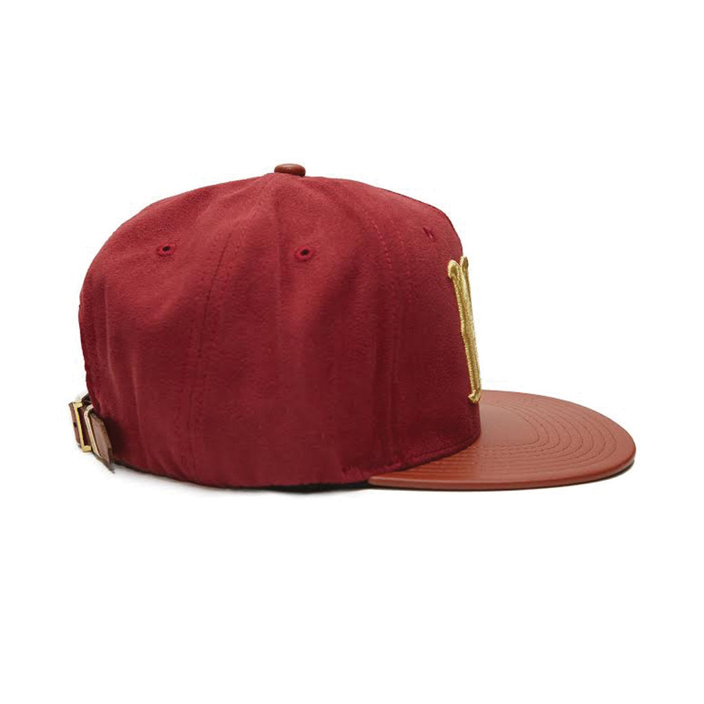 ALL NY PREMIUM - MAROON SUEDE