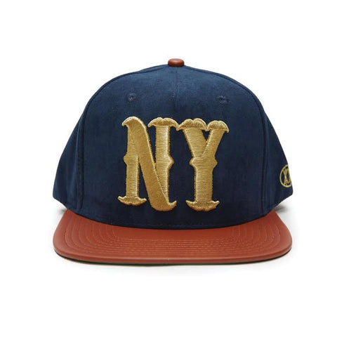 ALL NY PREMIUM - NAVY SUEDE