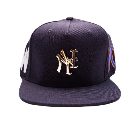 YANKMETS PIN NAVY