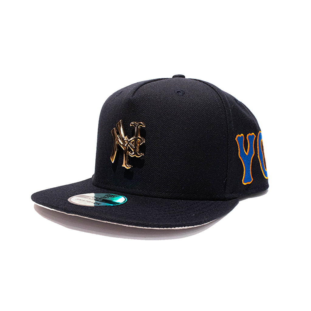 YANKMETS NAVY PIN