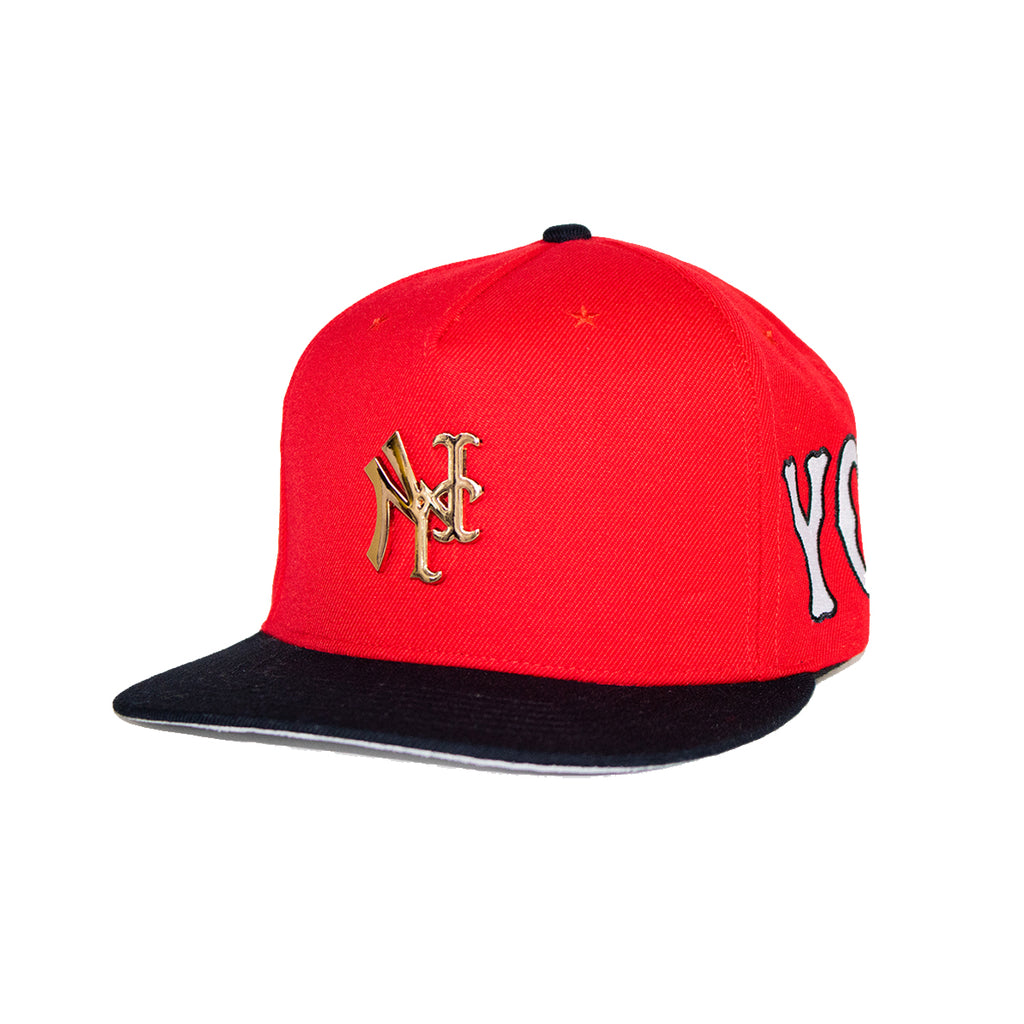 YANKMETS PIN RED