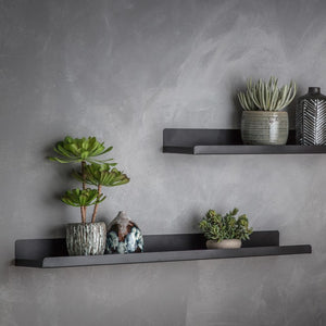 The Jane - Black Wall Shelf