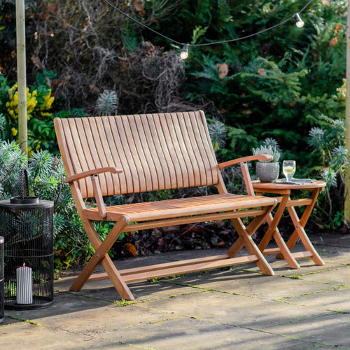 The Leila - Outdoor Folding Bench