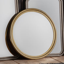 Load image into Gallery viewer, The Mary Round - Mirror Brass Small