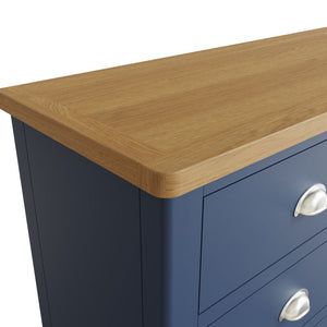 The Jaymie - Blue 6 Drawer Chest