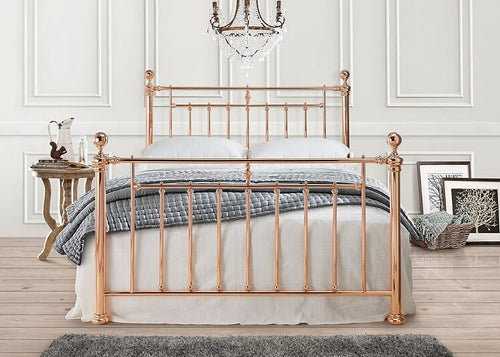 The Georgette - Rose Gold Bed
