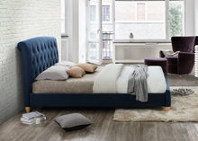 Load image into Gallery viewer, The Luisa - Midnight Blue Bed