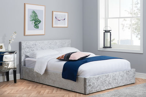 The Beryl Fabric Ottoman Bed