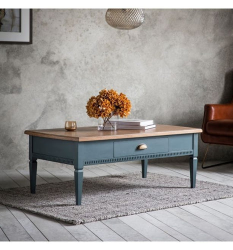 The Eleanor - Storm 1 Drawer Coffee Table