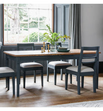 Load image into Gallery viewer, The Eleanor -Storm Extending Dining Table & Chairs