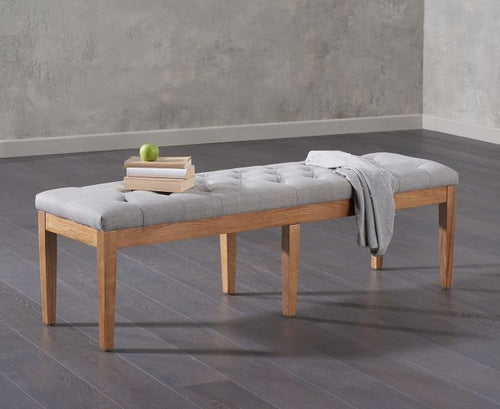 The Loretta - Fabric Bench