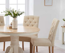 Load image into Gallery viewer, The Maisie - Oak & Cream Dining Set