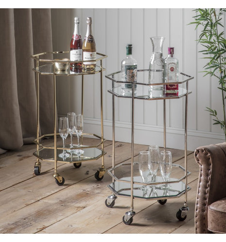 The Martine - Octagon Drinks Trolley