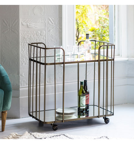 The Martine - Deco Drinks Trolley