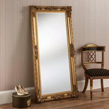 Load image into Gallery viewer, The Mila - Silver Full length Ornate Mirror