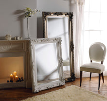 Load image into Gallery viewer, The Mila - White Full length Ornate Mirror
