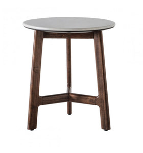 The Shona - Marble Round Side Table