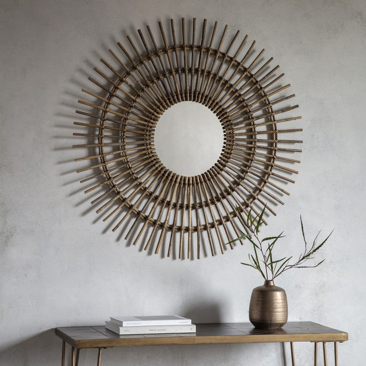 The Estelle - Round Accent Mirror