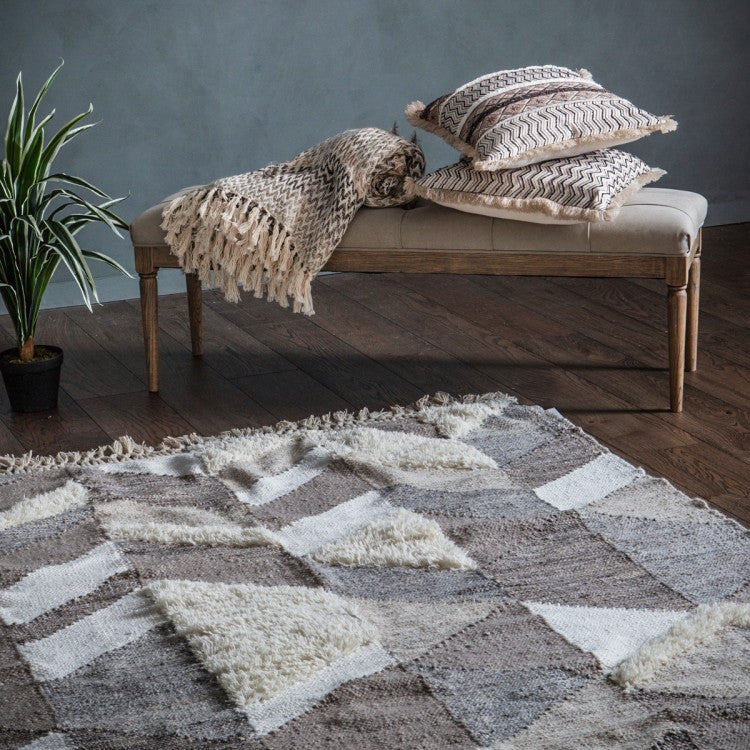 The Snezana- Fringed Rug