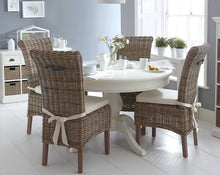 Load image into Gallery viewer, The Lisa - Dining Set with Wicker Chairs