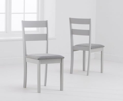 The Tessa - Hardwood Chairs (Pair)