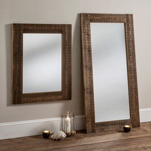 The Laney - Rustic Wooden Mirror