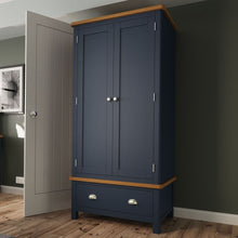 Load image into Gallery viewer, The Jaymie - Blue 2 Door 2 Drawer Wardrobe