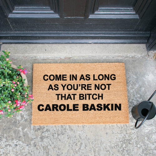 The Carole Baskin - Doormat