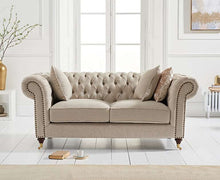 Load image into Gallery viewer, The Charlotte - Two Seater Chesterfield Sofa