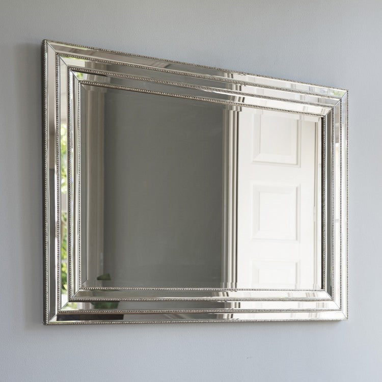 The Diane - Glass Framed Mirror